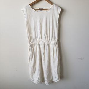 Theory women's lydan sleeveless ivory dress L
